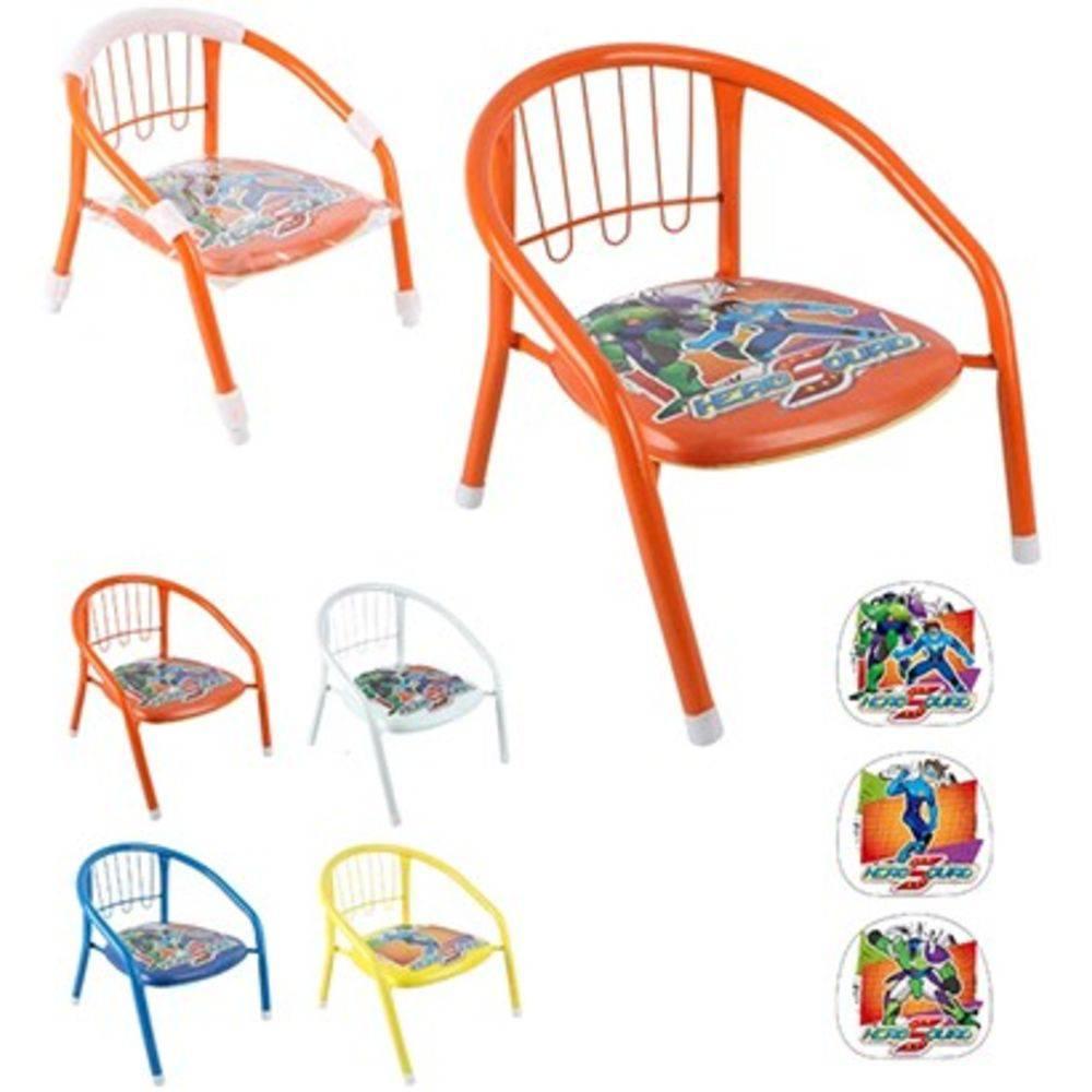 Cadeira Infantil Hero Squad Coloridas