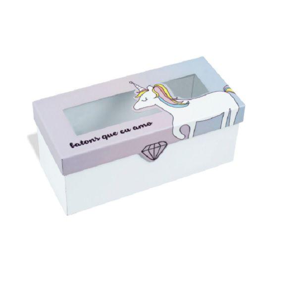 Caixa de Batons Unicórnio