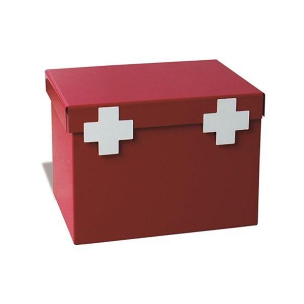 Caixa de Remédios Maleta Vermelha Geguton
