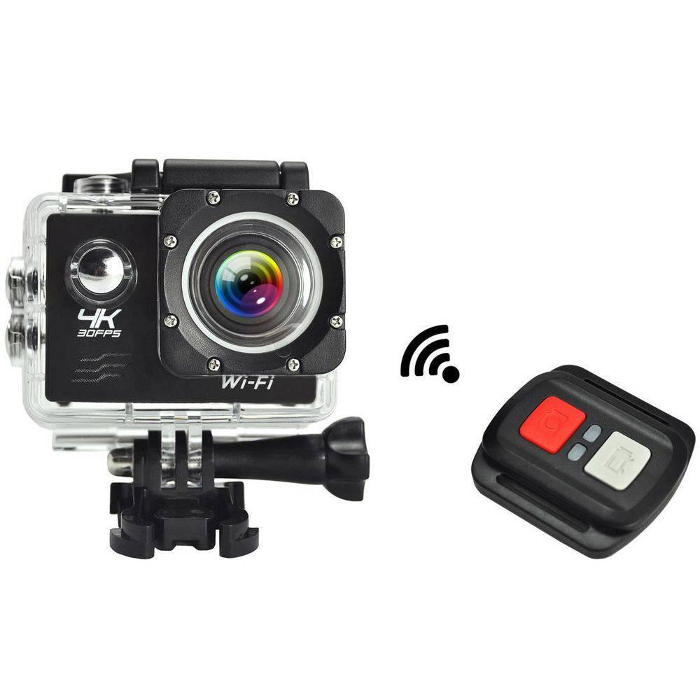 Câmera Sport Prova Dágua 4k Wifi Action Controle Remoto