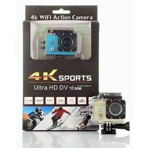Câmera Sports Cam 4K Full HD 1080 WiFi