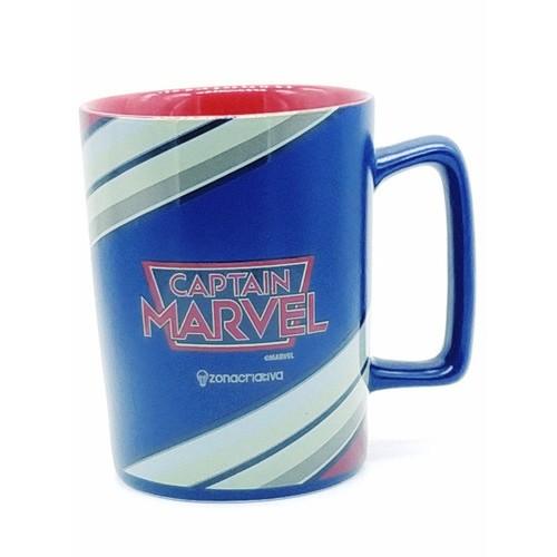 Caneca de Cerâmica da Capitã Marvel - Zona Criativa
