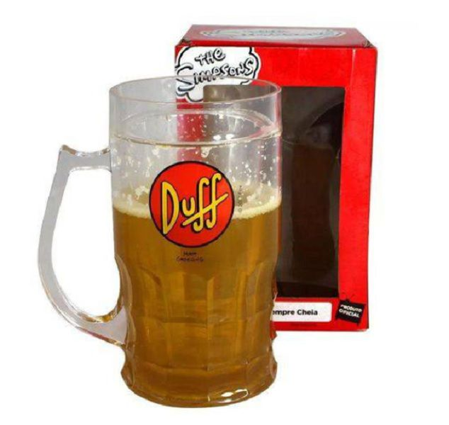 Caneca Gel de Chopp Duff  Simpsons