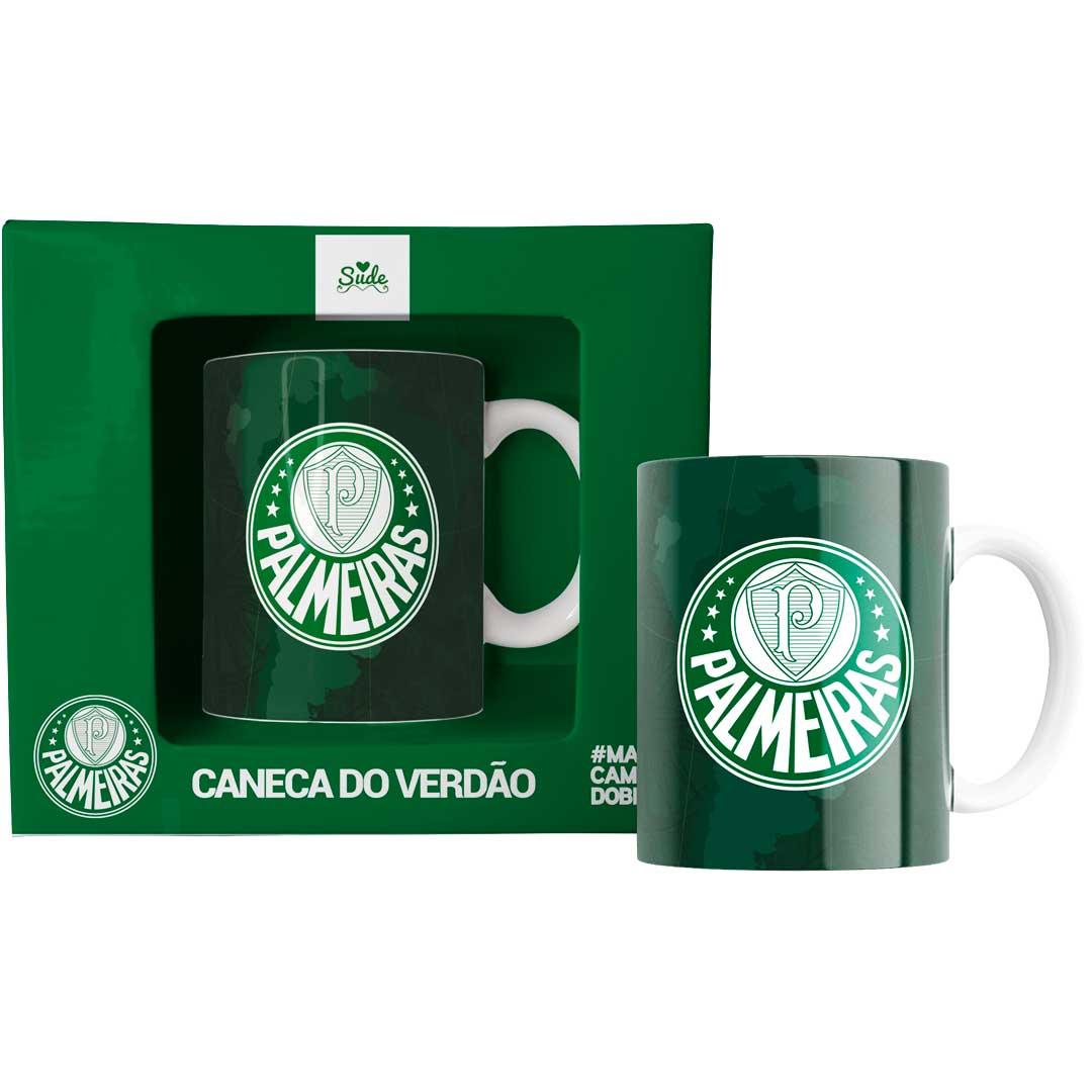 Caneca Palmeiras Bicampeão da América 330 ml