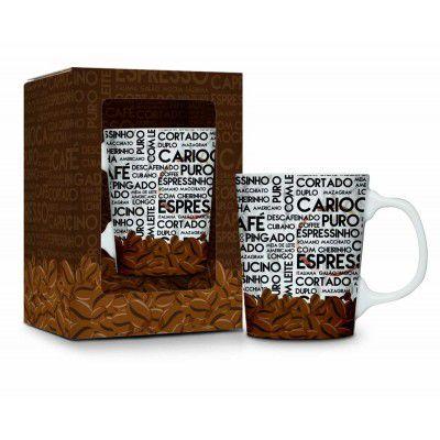 Caneca porcelana - Café carioca
