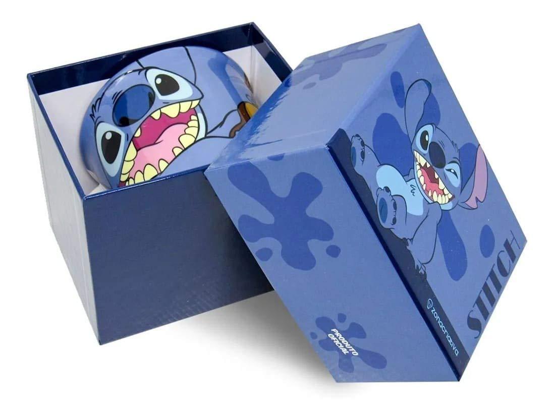 Caneca Stitch 350ml Com Caixa Cartonada