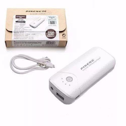 Carregador Bateria Externa Pineng Bank 5000mah Original