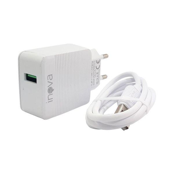 Carregador Inova Para Viagem Micro USB Turbo Power 15W