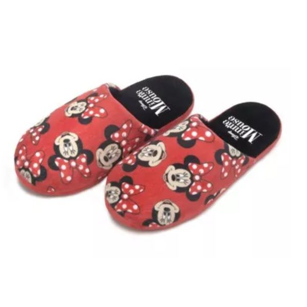 Chinelo Pantufa Feminino Minnie Mouse