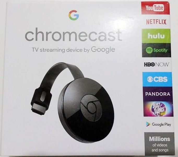 Chromecast 2 Hdmi  Original  Google