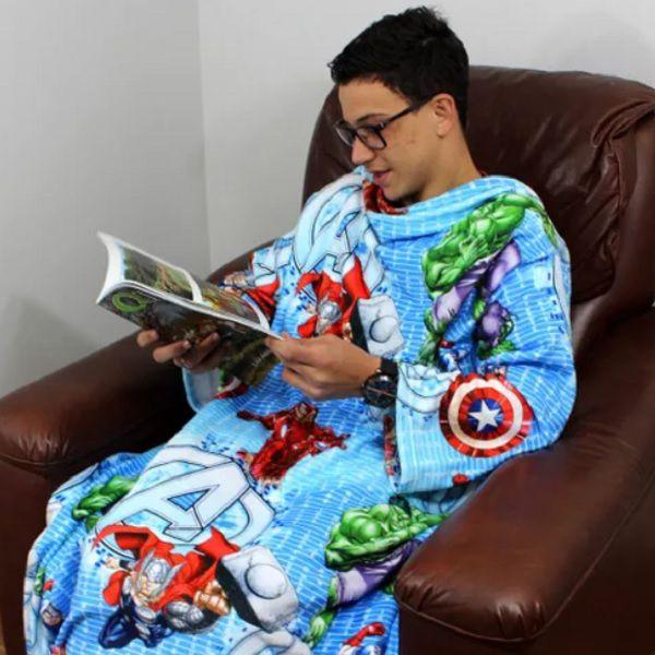 Cobertor com Mangas Avengers