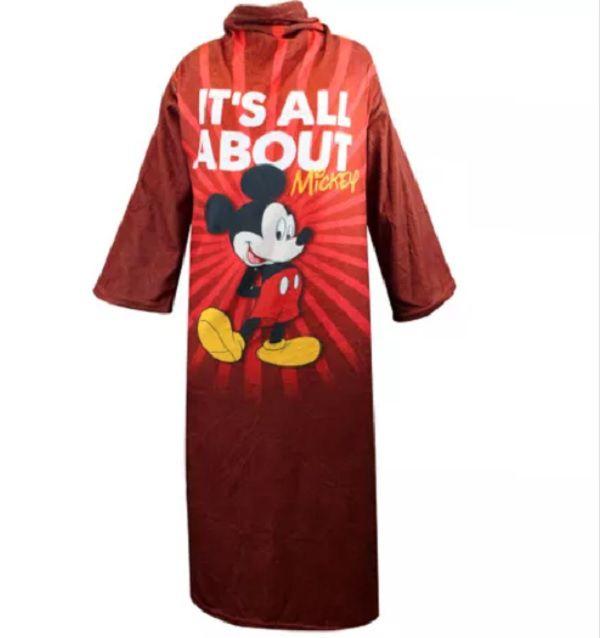 Cobertor com Mangas Mickey