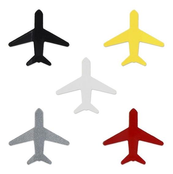 Conjunto 5 Super Ímãs Coloridos Avião - Geguton