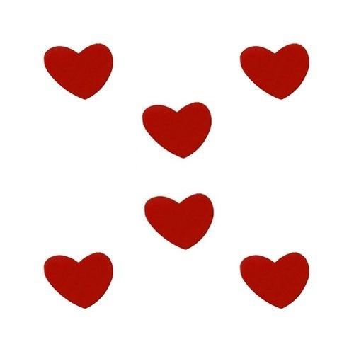 Conjunto 6 Super Ímãs Coração - Geguton