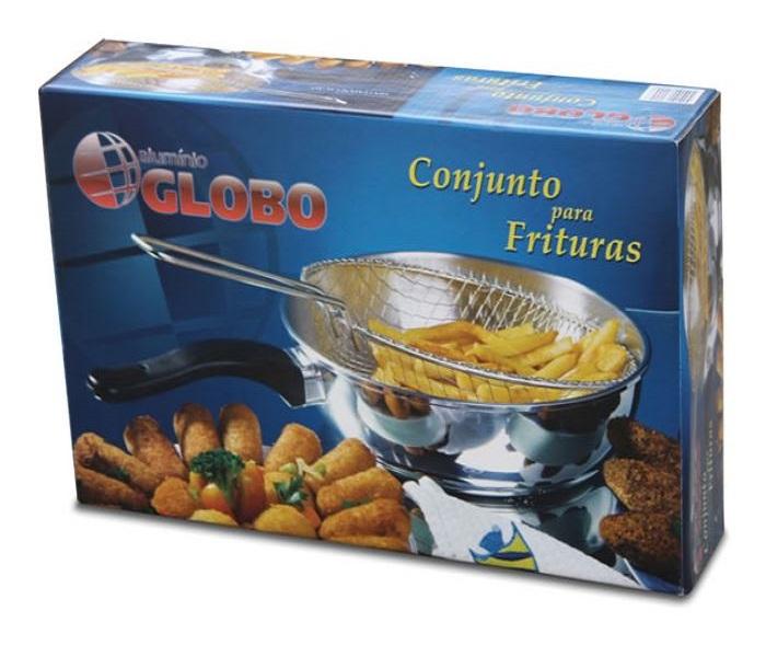 Conjunto Para Frituras em Alumínio Globo