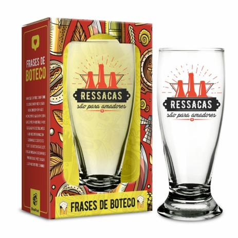 Copo Para Cerveja Munich 200 Ml Ressacas São Para Amadores Brasfoot
