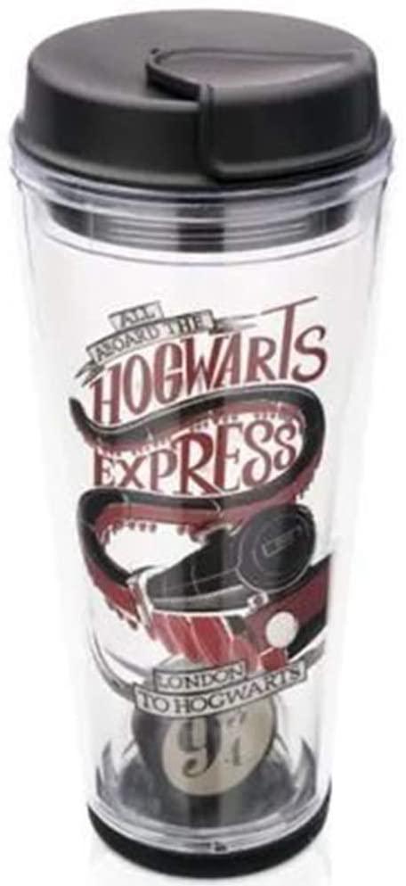Copo para viagem com domo harry potter Hogwarts