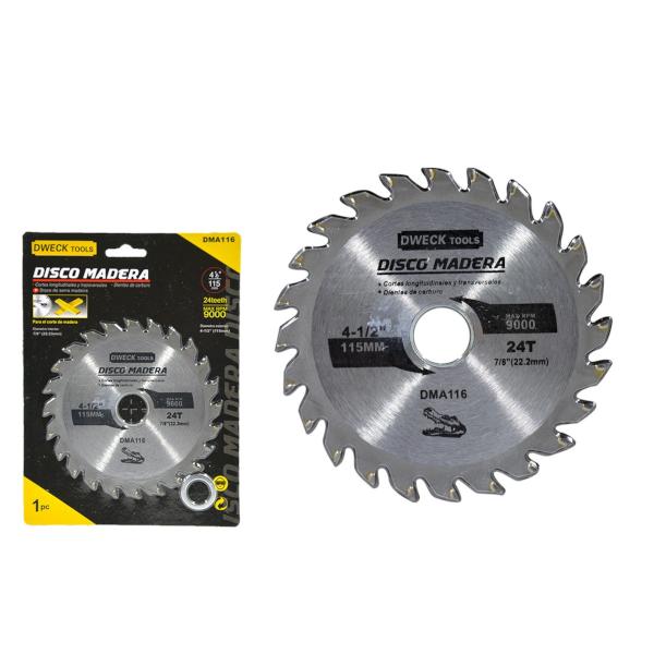 Disco De Serra Madeira Dwec tools