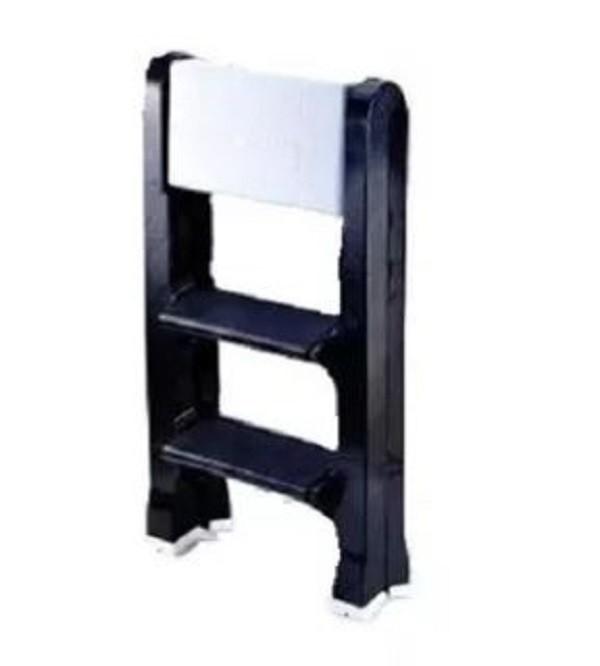 Escada Banco Plástica Dobrável 3 degraus
