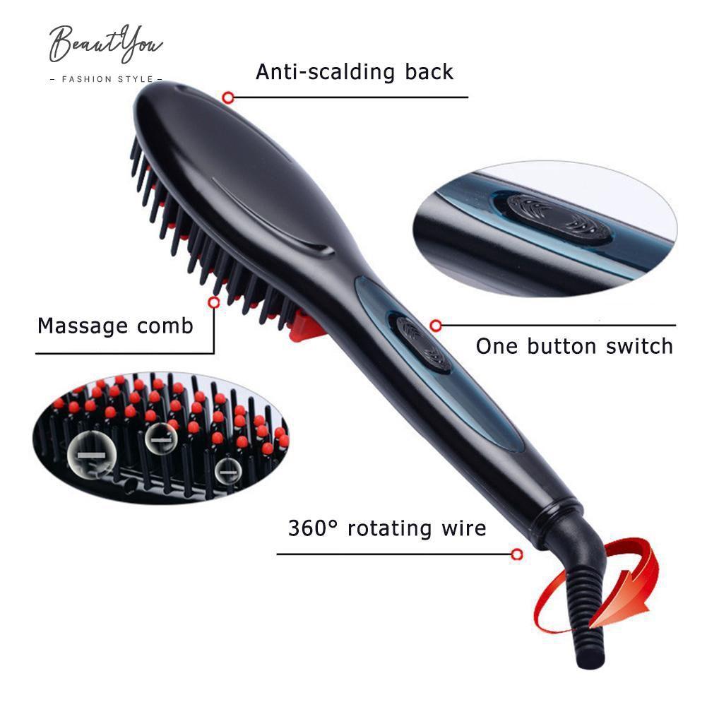Escova Alisadora Fast Hair Straightener
