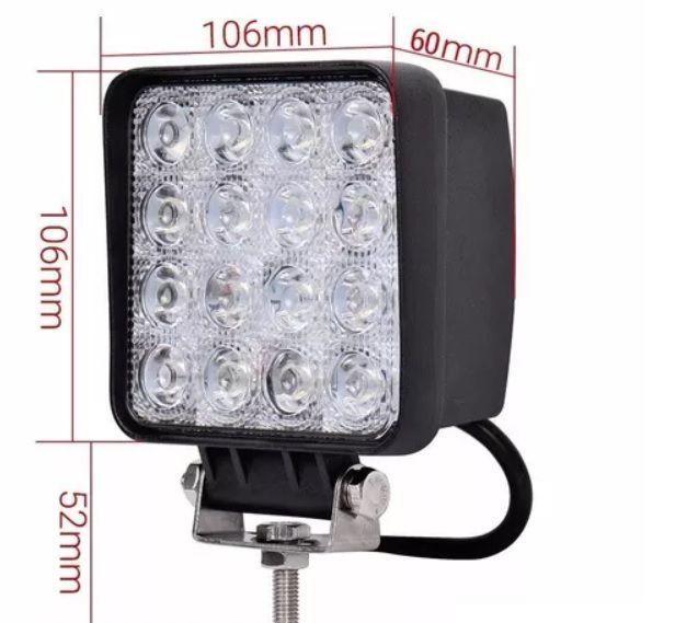Farol de Milha 48 w 10-30 v Barra De LED