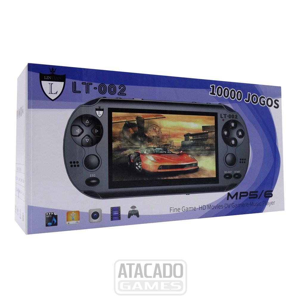 Game Portátil Sqonyy 3d Mp5\6 C\ Câmera - S-688