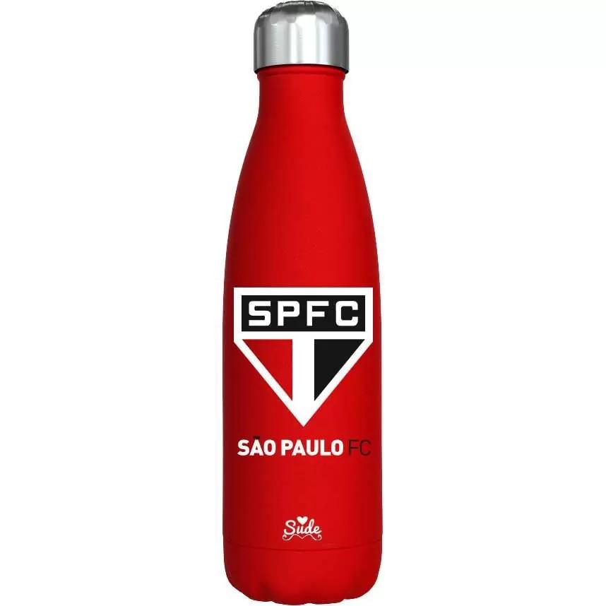 Garrafa Cantil Inox São Paulo SPFC Oficial - 750mL - Sude