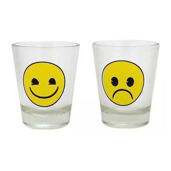 Jogo de Roleta Emoji com 2 Shots