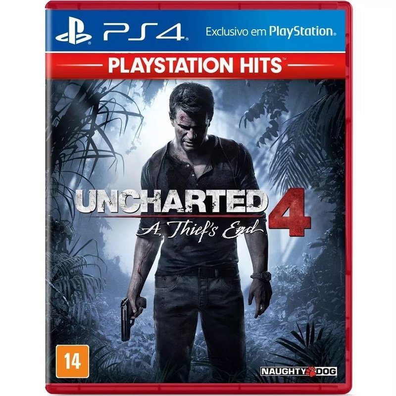 Jogo Uncharted 4 A Thief´s End para Playstation 4