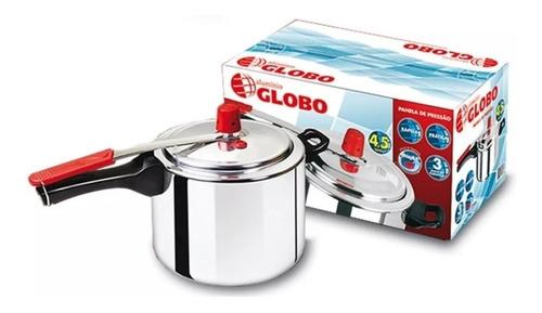 Kit 2 Peças Panelas De Pressão 4,5 Litros Globo