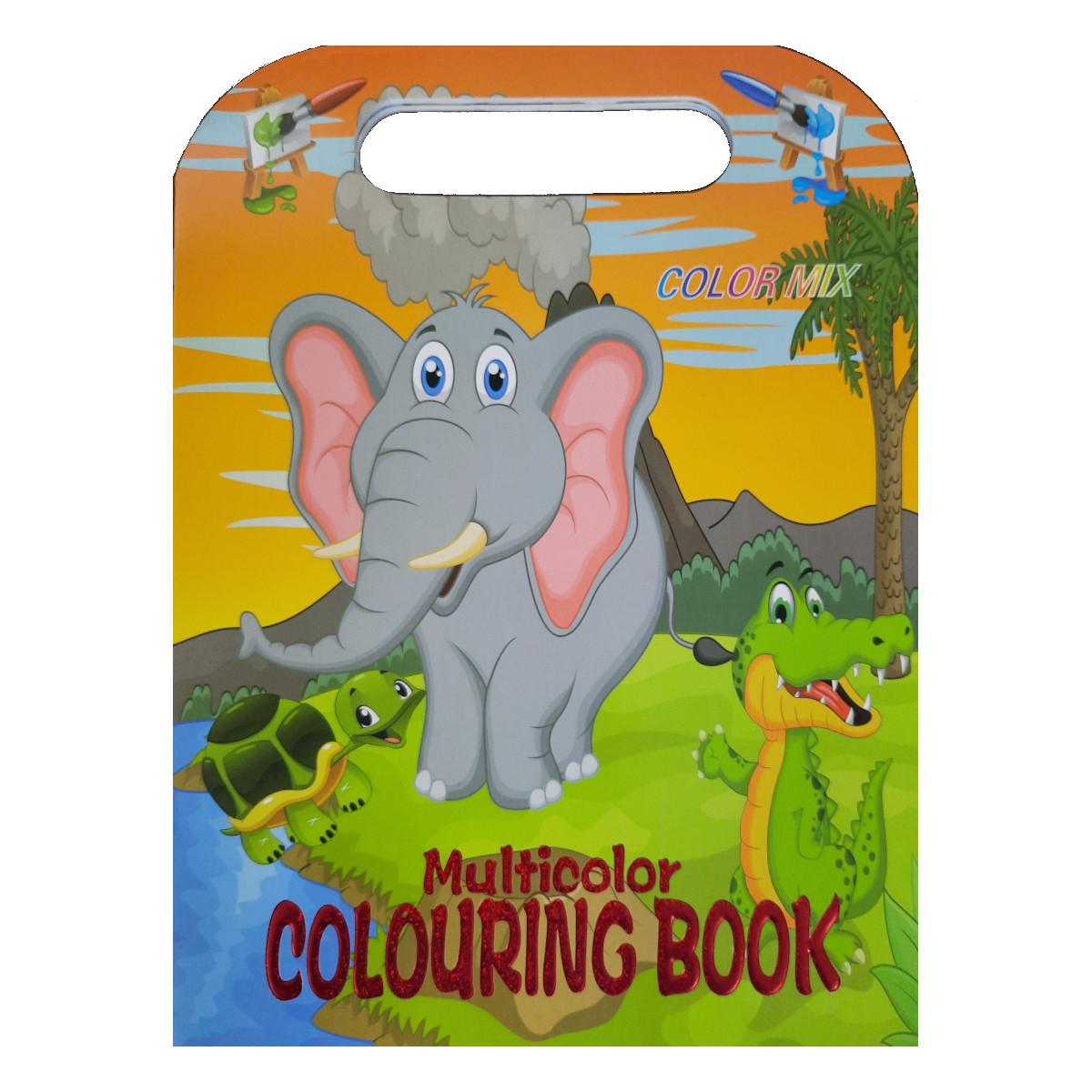 Kit 3 Livros Infantis para Colorir (com 8 Folhas cada)