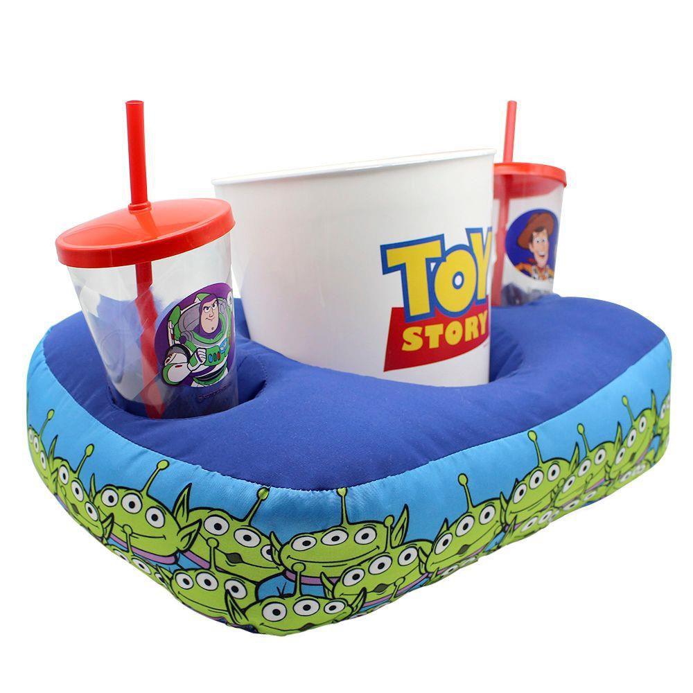 Kit Almofada Porta Pipoca Copos Toy Story Classic