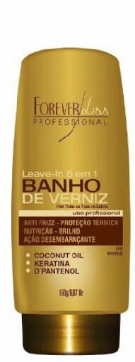 Leave-in 5 Em 1 Banho De Verniz 150g Forever Liss