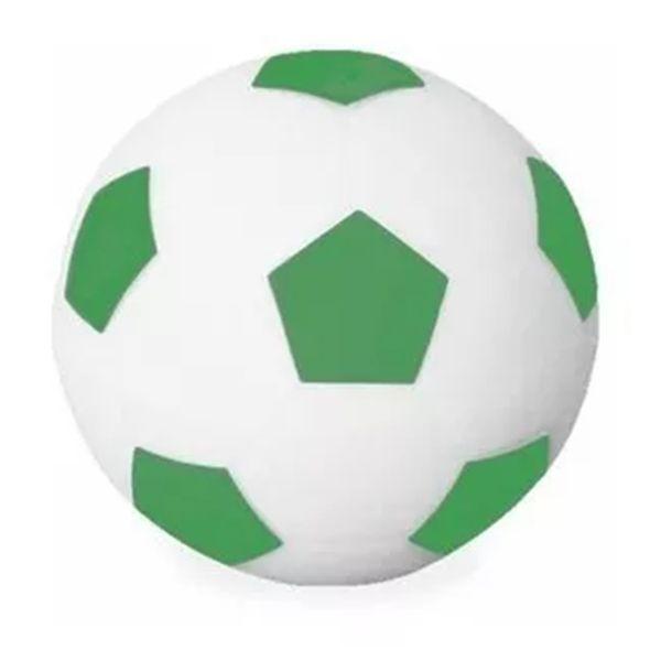 Luminária Abajur Bola De Futebol Branco E Verde Usare