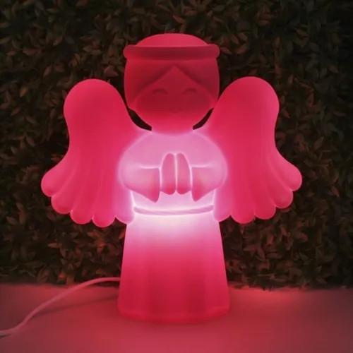 Luminária De Mesa Abajur Anjo Da Guarda Usare