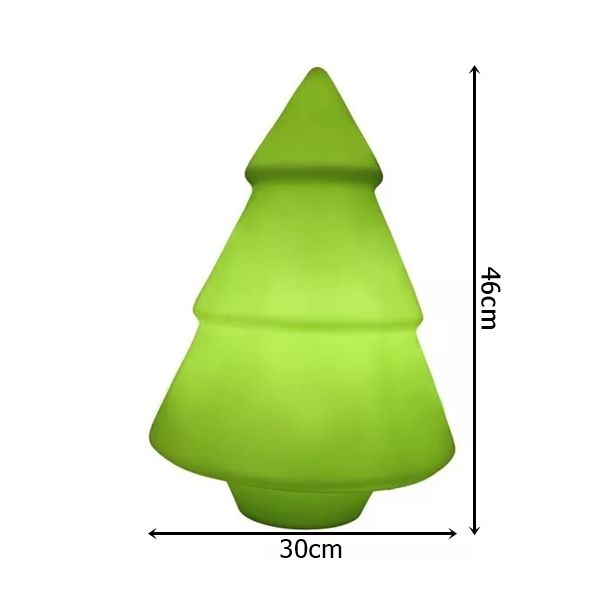 Luminária de Mesa Árvore de Natal