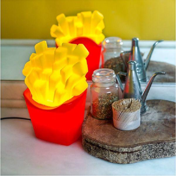 Luminária de Mesa Batata Frita