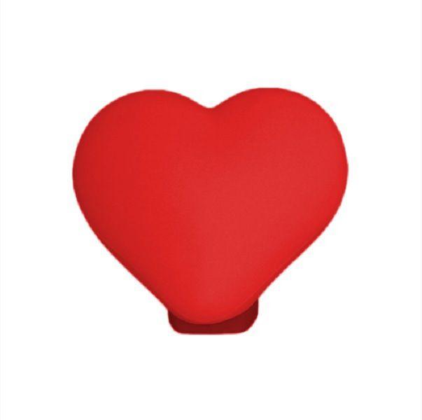 Luminária de Mesa Coração Vermelho