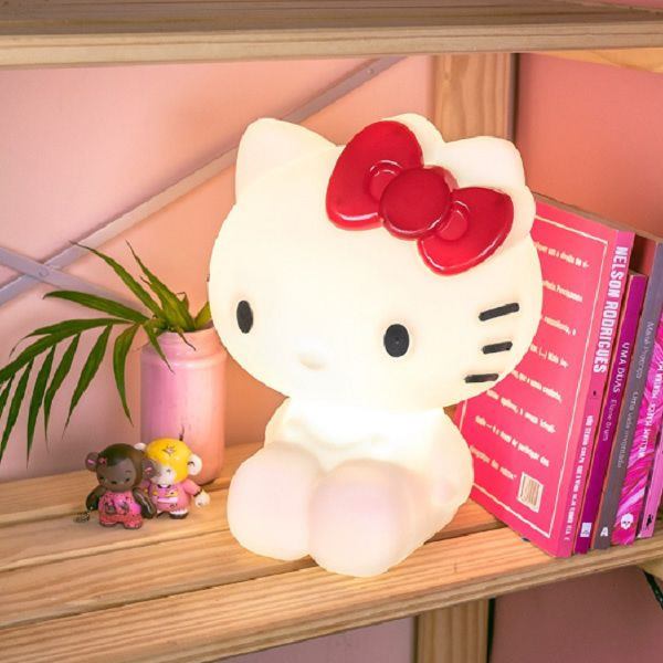Luminária de Mesa Hello Kitty