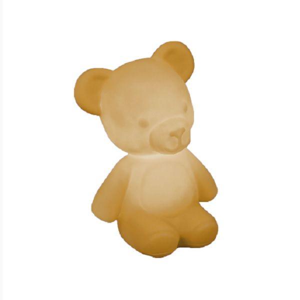 Luminária de Mesa Ursinho Teddy Caramelo