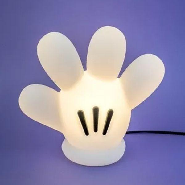 Luminária Mesa Luva Mickey