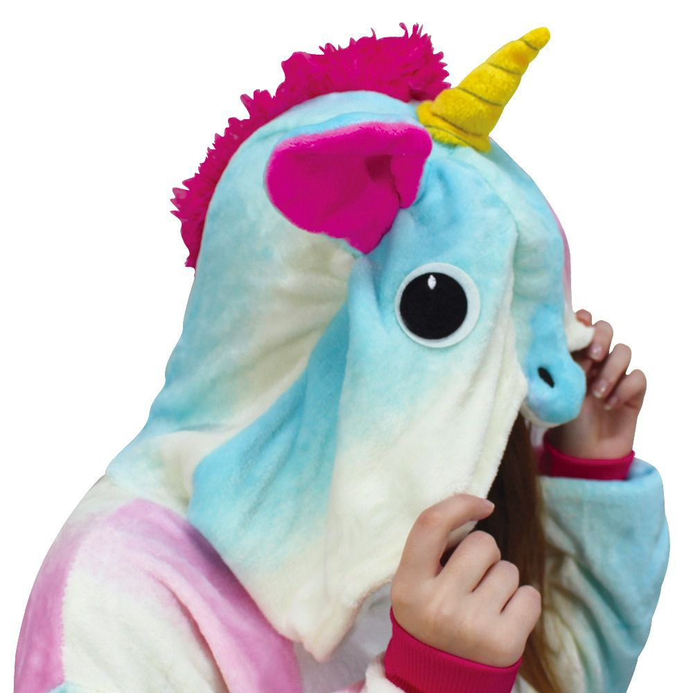 Pijama macacão Unicórnio Colorido