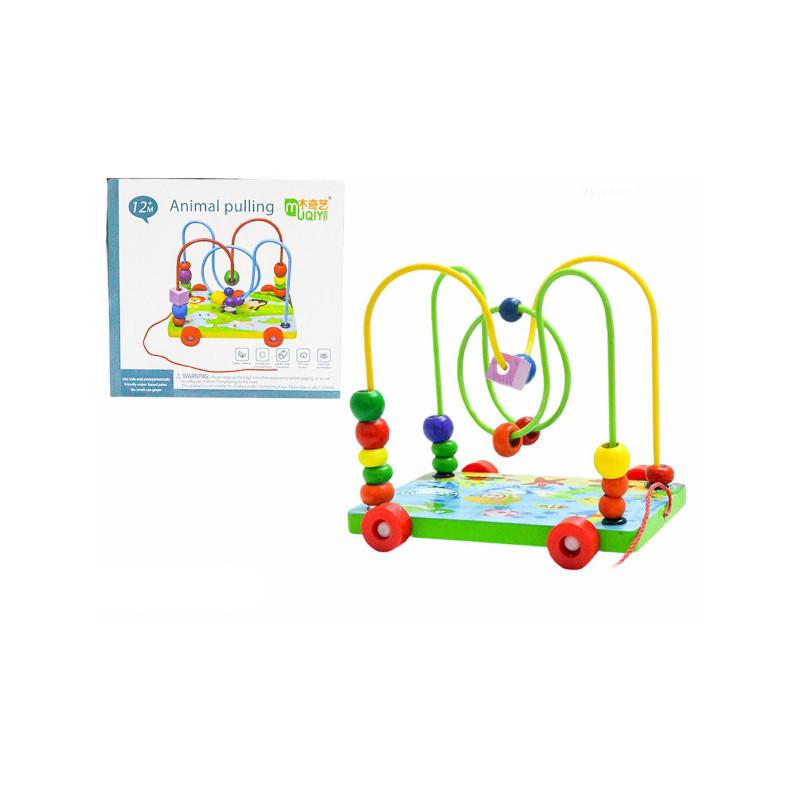 Mini Montanha Russa com Rodinhas Brinquedo Educativo