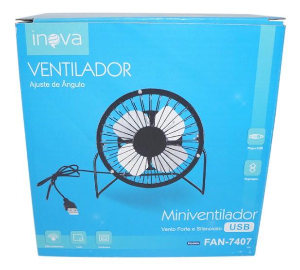 Mini Ventilador De Mesa  Articulavel Potente Usb