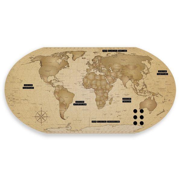 Mural Mapa Mundi Explore