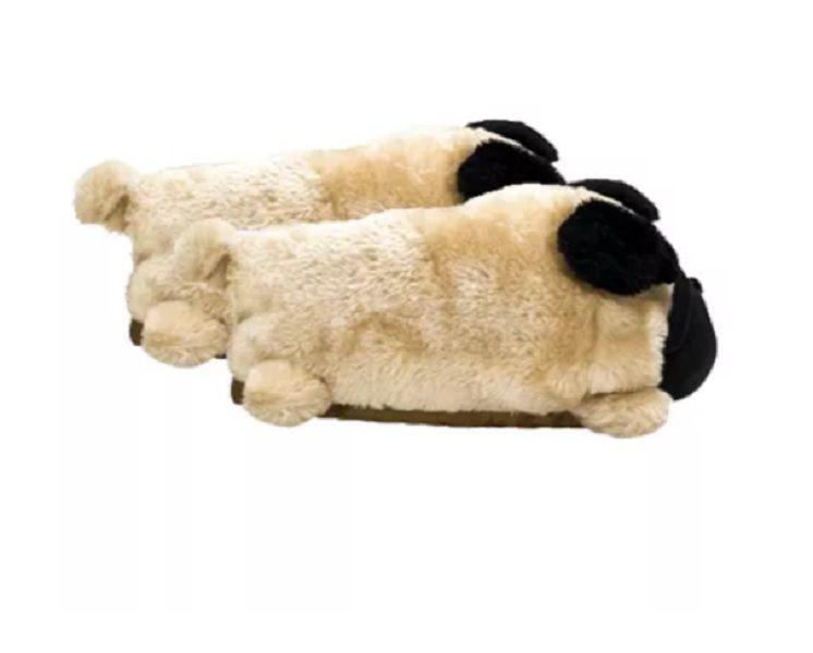 Pantufa 3D Pug