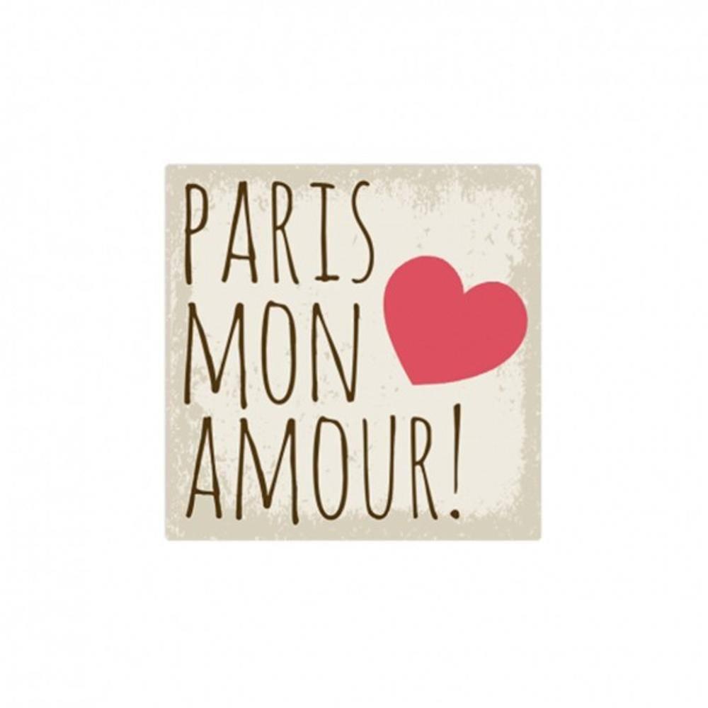 Placa Mon Amour