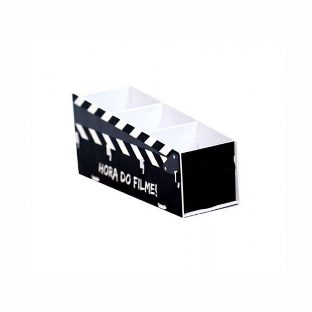 Porta Controle Remoto Claquete Hora do Filme