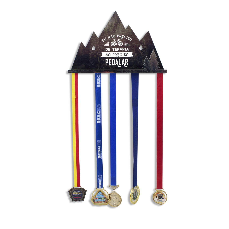 Porta medalha Pedalar