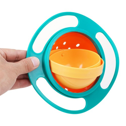 Potinho Mágico 360 Graus Tigelinha Que Não Derrama Universal Gyro Bowl